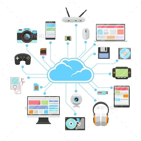 Cloud Server and Sync of Electronic Devices
