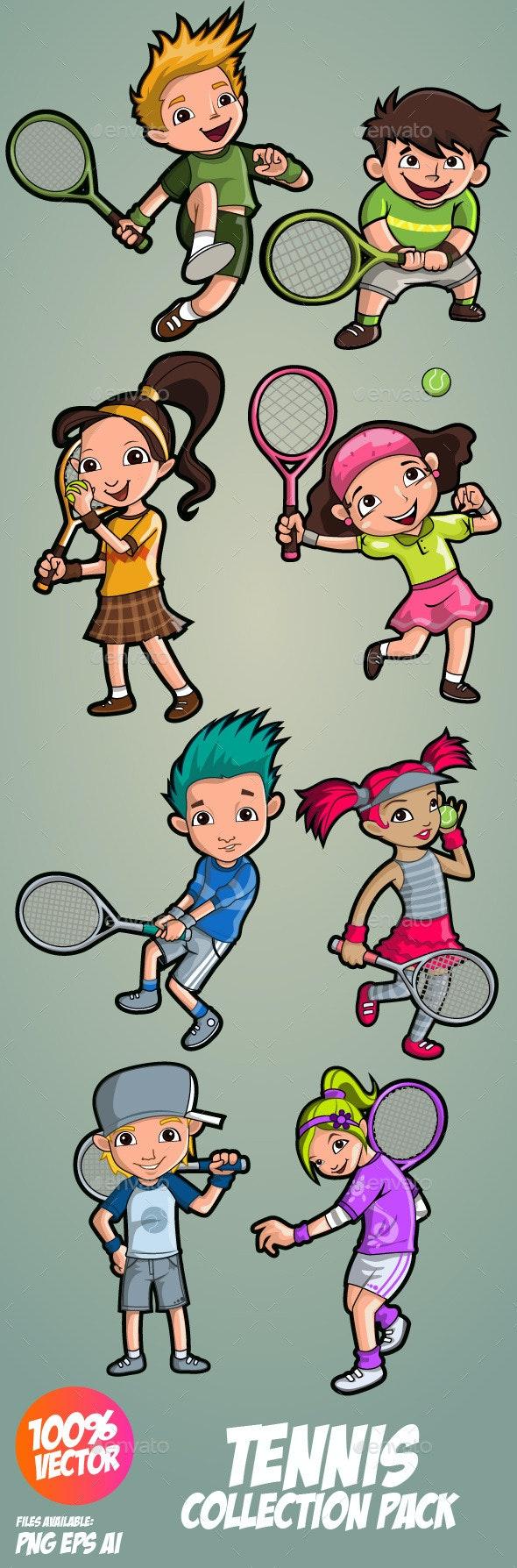 Tennis Collection - Sports/Activity Conceptual