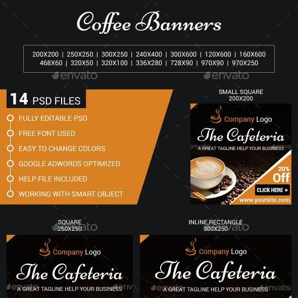 Coffee Web Banners