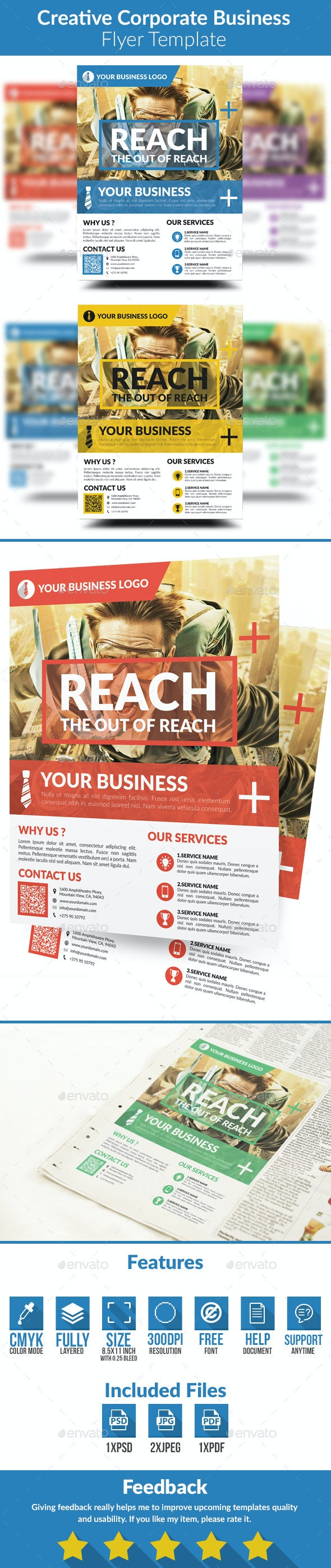 Creative Corporate Business Flyer - Corporate Flyers