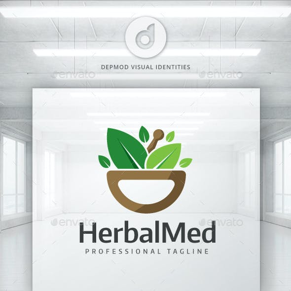 Herbal Med Logo