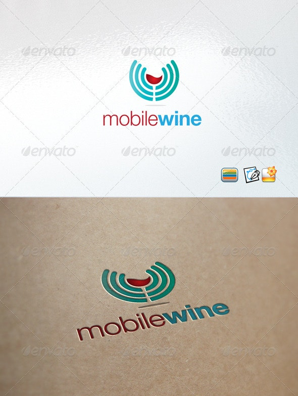 Mobilewine - Nature Logo Templates