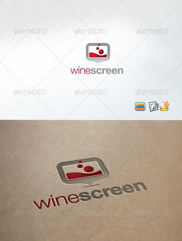 Winescreen - Abstract Logo Templates