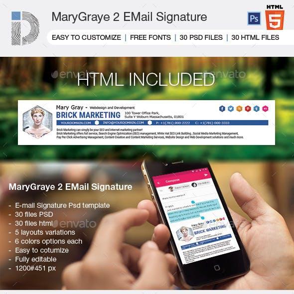 EMail Signature MaryGraye