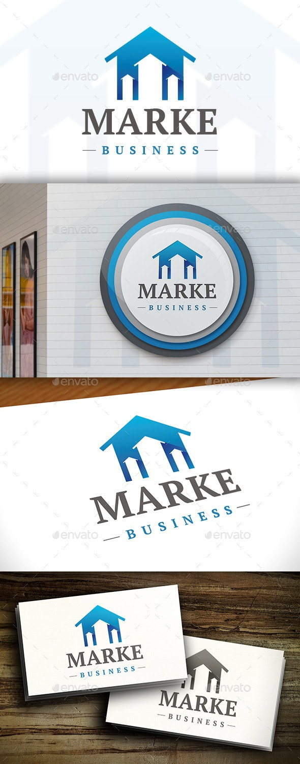 Real Estate Market Logo