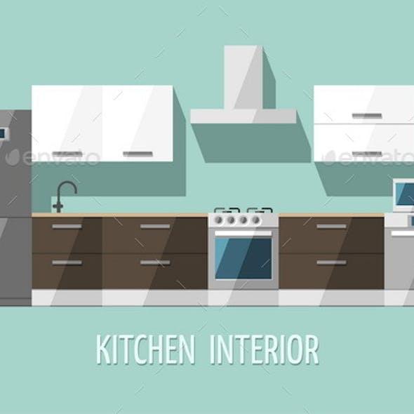 Kitchen Interior. Kitchen Furniture.