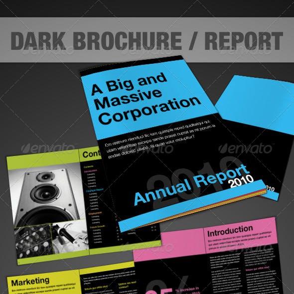 Dark Brochure - InDesign