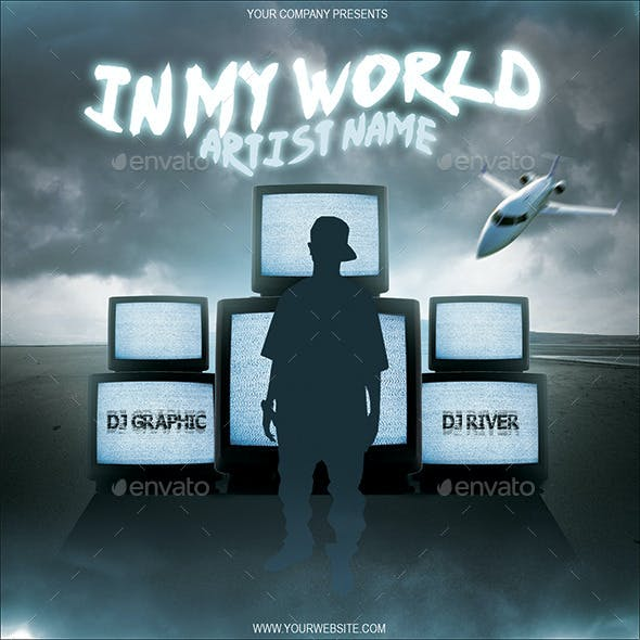 Mixtape CD Cover Template