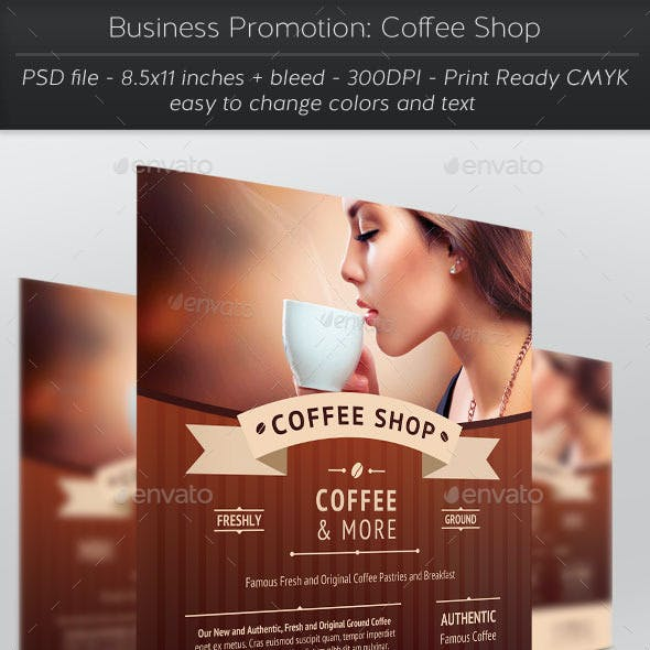 Business Promotion: Coffee Shop