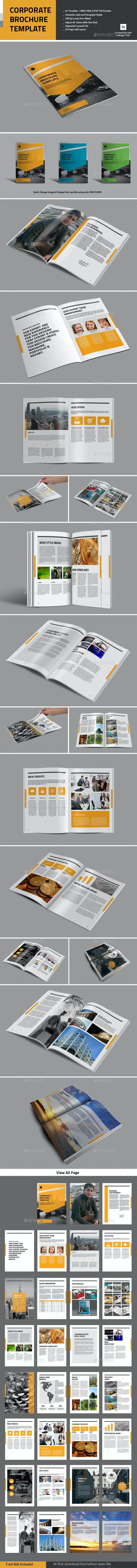 Corporate Brochure Templage - Corporate Brochures