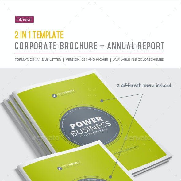 2-in-1 / Corporate Brochure + Annual Report