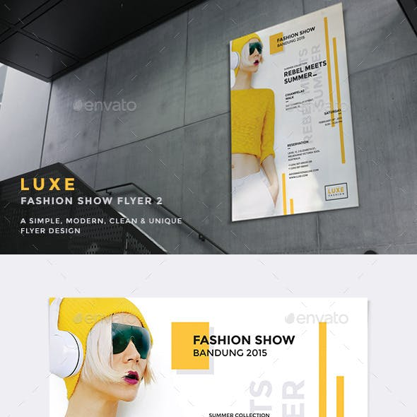 Luxe - Fashion Show Flyer v2