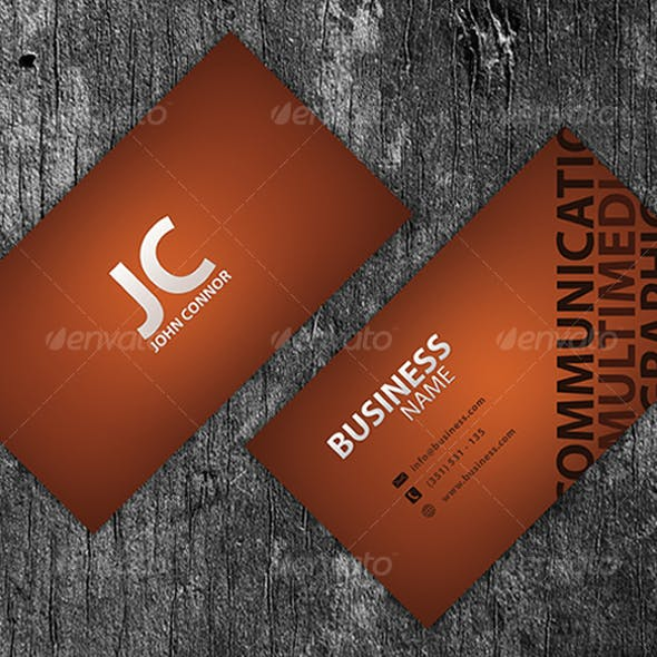 Template Business Card V2