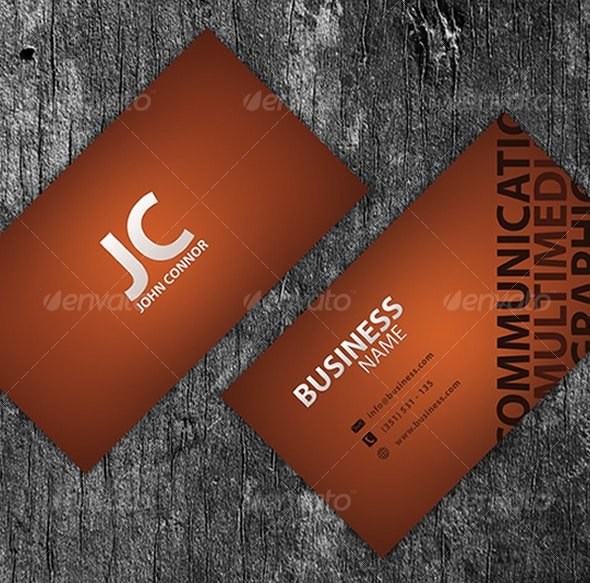 Template Business Card V2 - Business Cards Print Templates