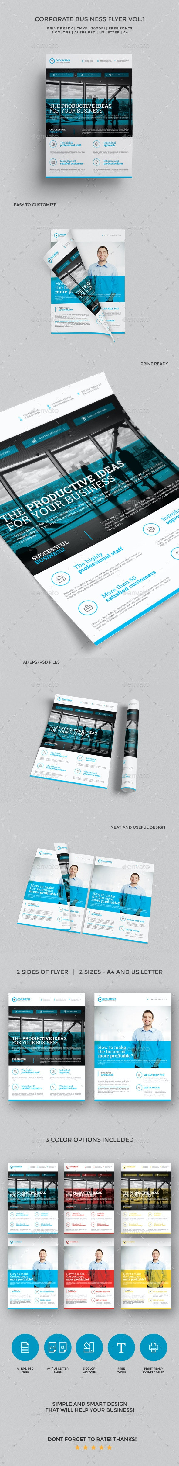 Corporate Business Flyer vol. 1 - Corporate Flyers