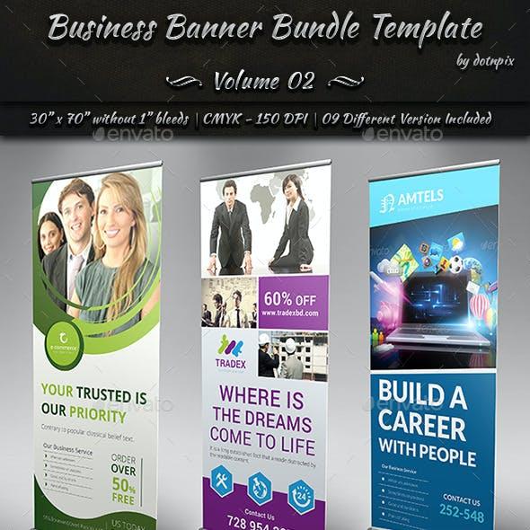 Business Banner Bundle Template | Volume 2