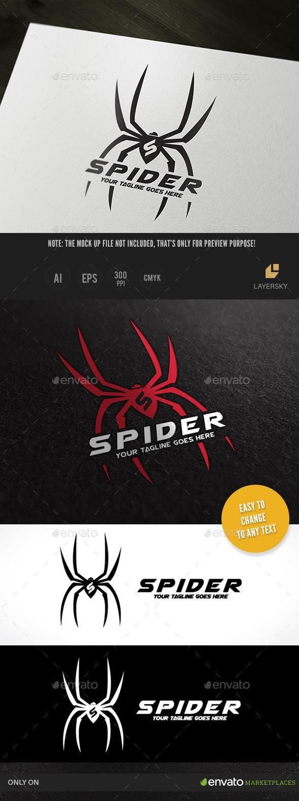 Spider - Animals Logo Templates