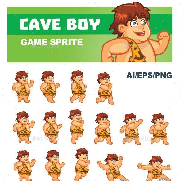 Cave Boy Sprite