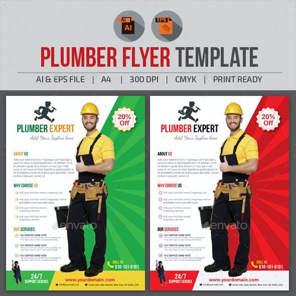 Plumber Flyer Template