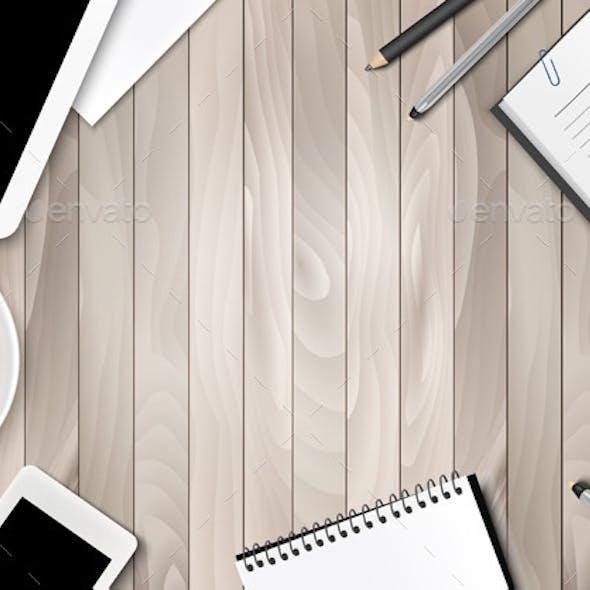 Office Workspace Background