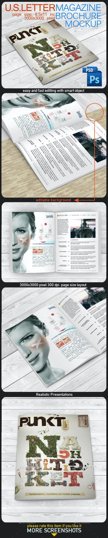Magazine Mock Up - Magazines Print