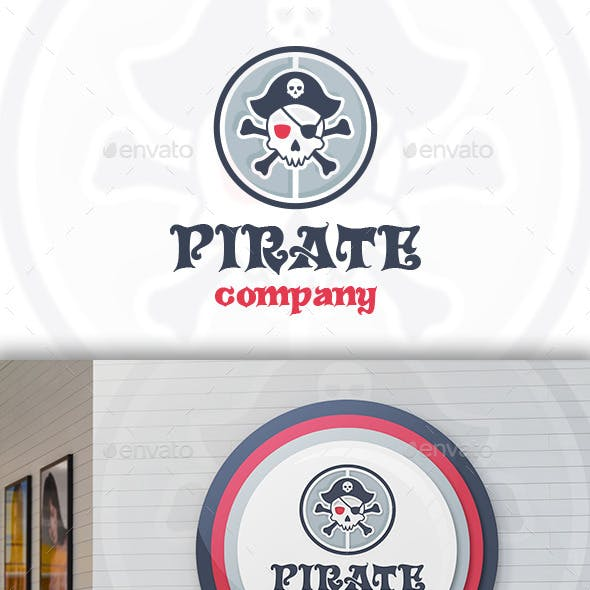 Pirate Team Logo