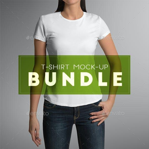 T-Shirt Mock-Up Bundle