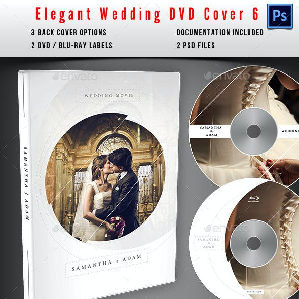 Wedding DVD / Blu-Ray Cover 06