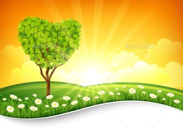 Summer Landscape - Seasons Nature