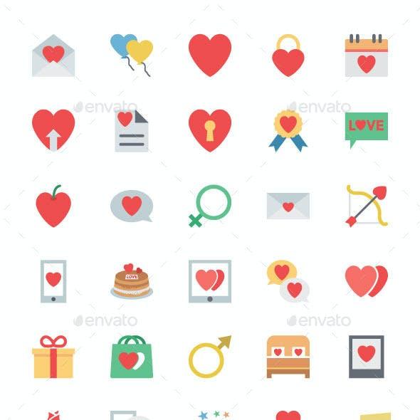 125+ Valentine Vector Icons