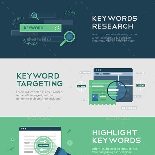 Keywords Optimization Banners