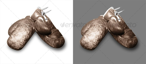 Boxing Gloves - Activities & Leisure Isolated Objects