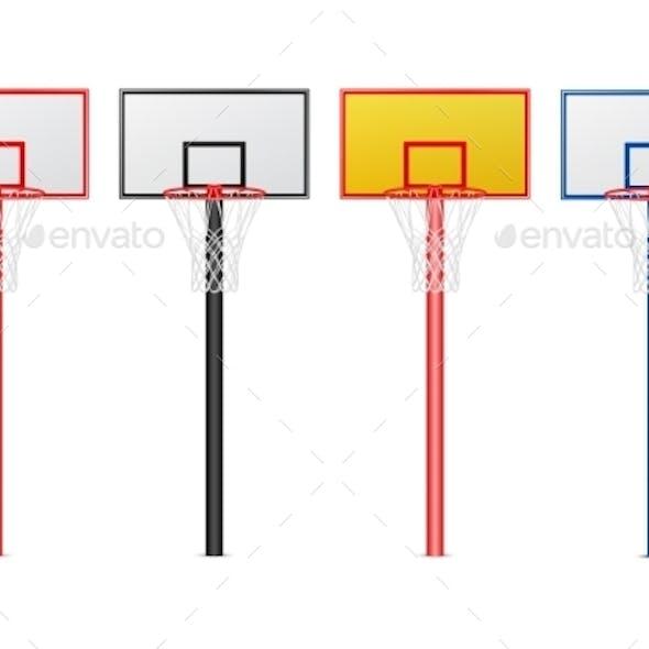 Basketball Hoops Set