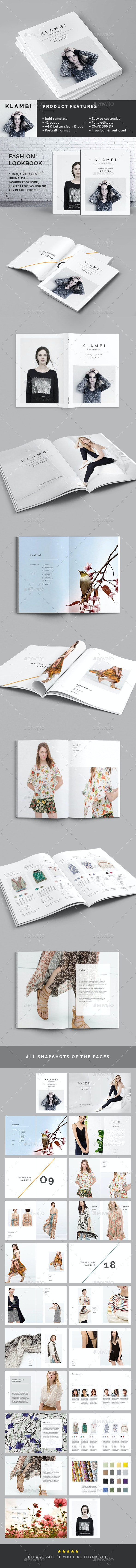 Fashion Lookbook - Catalogs Brochures