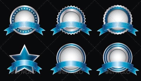 Metallic Seals - Decorative Symbols Decorative
