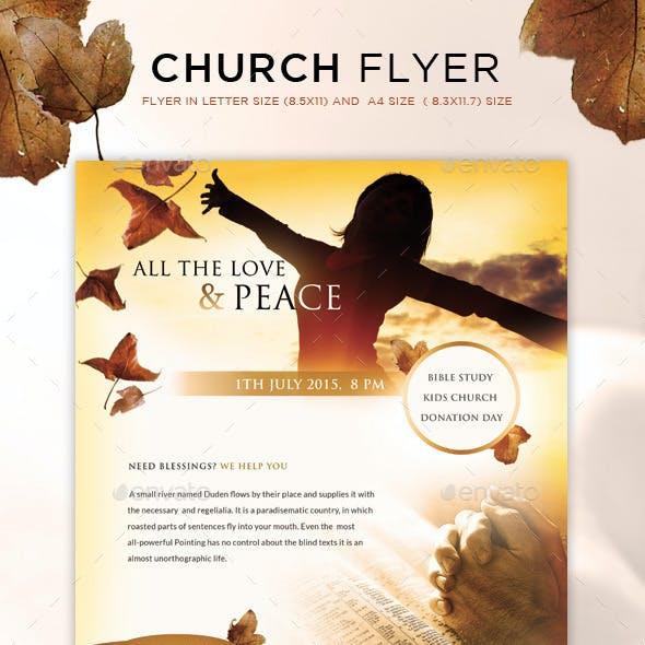 Church Flyer / Magazine Ad
