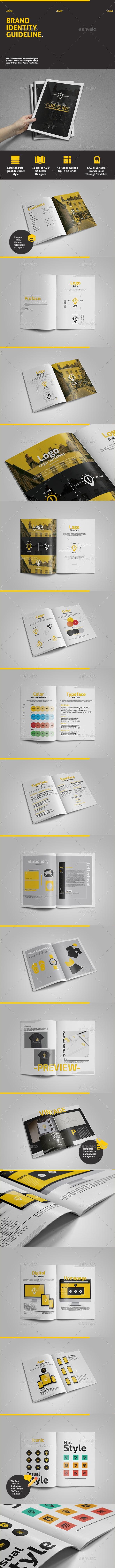 Brand Identity Guideline - Informational Brochures