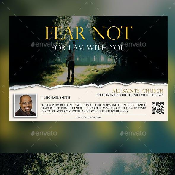 Fear Not Church Flyer