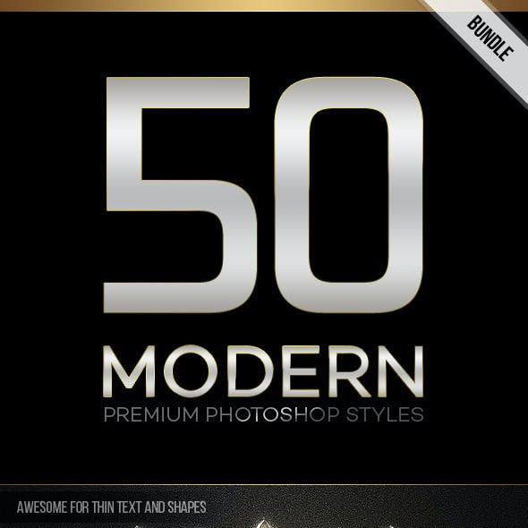 50 Modern Styles Bundle