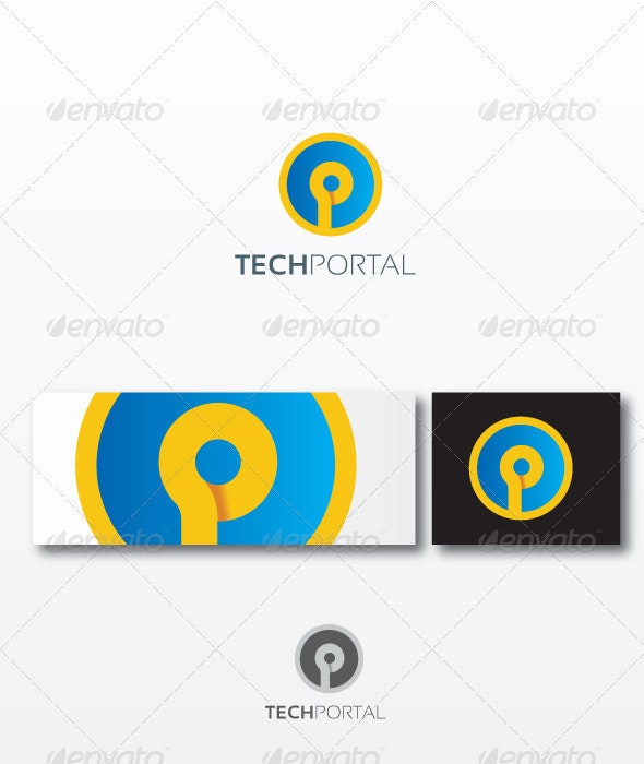 techPortal - Objects Logo Templates