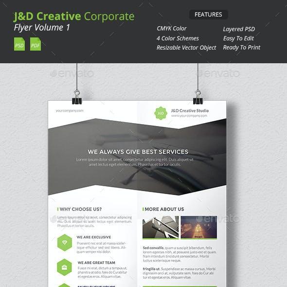 JnD - Creative Corporate Flyer