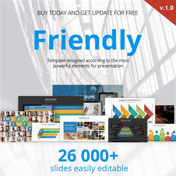 Friendly Multipurpose Presentation Template