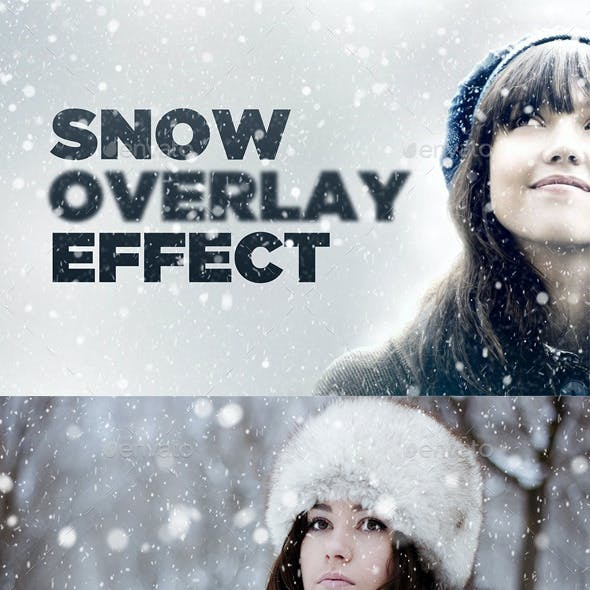Snowy Day Overlay Effect
