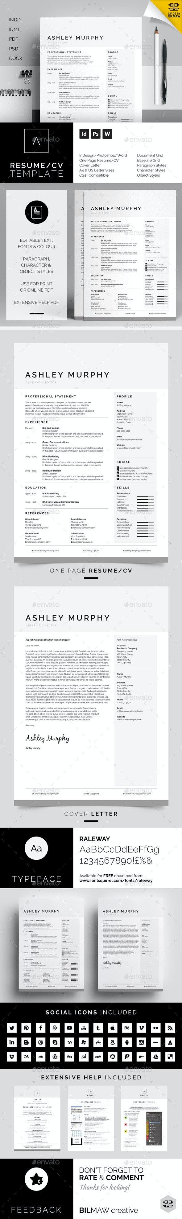 Resume/CV - Ashley - Resumes Stationery