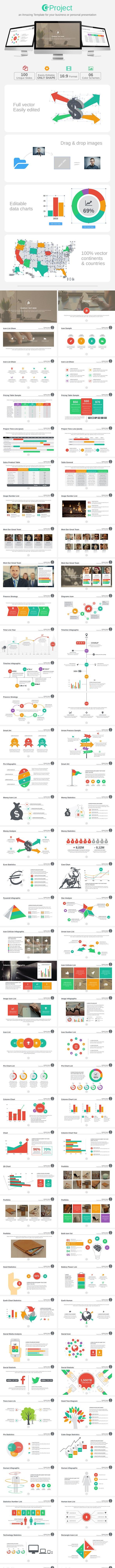 GProject Keynote Template - Business Keynote Templates