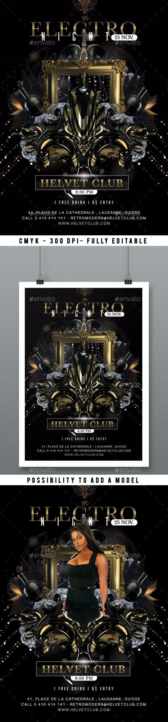 Nightclub Flyer - Clubs & Parties Events