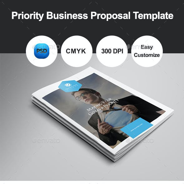 Priority Business Proposal Template