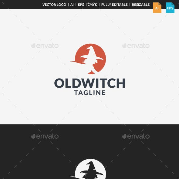 Old Witch Logo