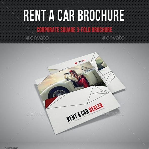Rent A Car Square 3-Fold Brochure 01