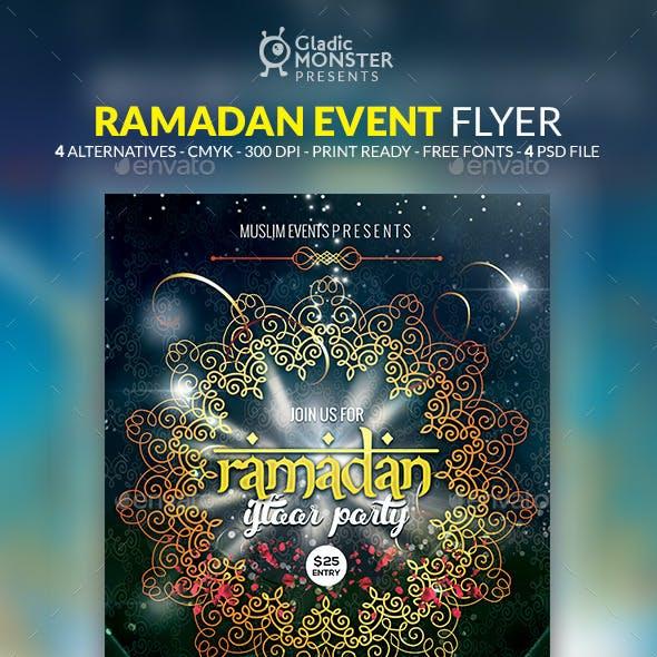 Ramadan Iftaar Party Flyer